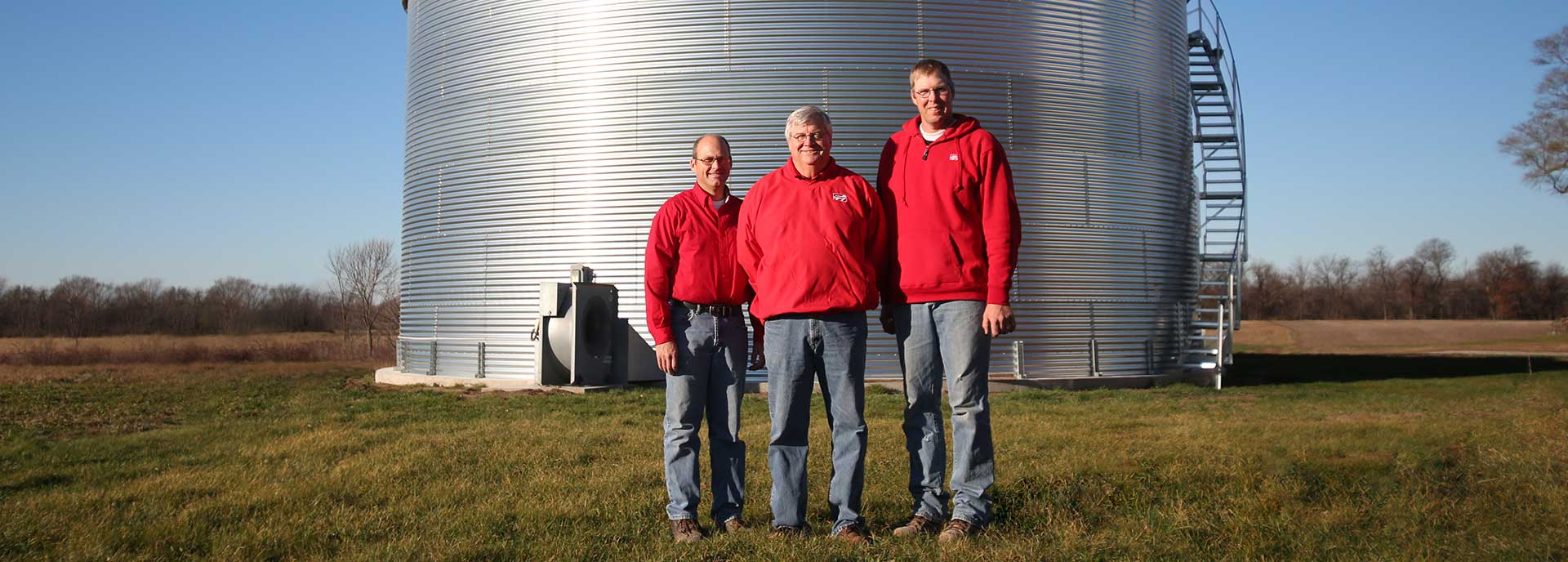 Stutsman Grain Storage - New Installs - Parts | Hills - Iowa