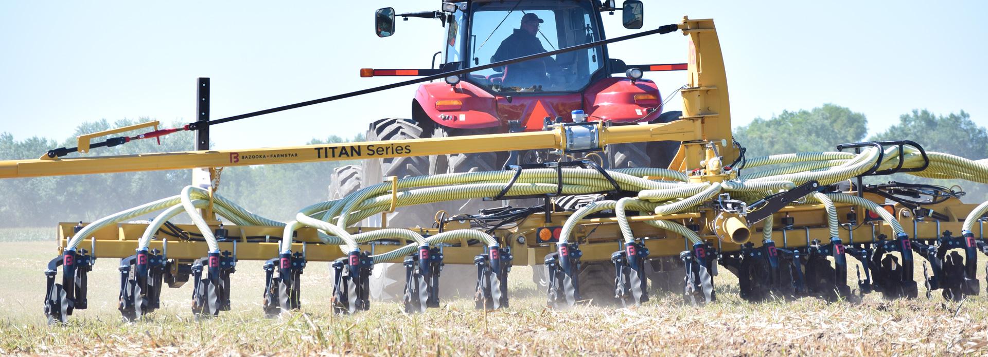 Eldon-C-Stutsman-Inc-Bazooka-Farmstar-Titan-Series-Manure-Toolbar
