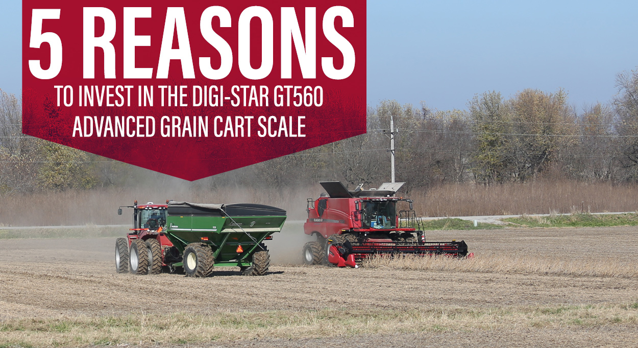Digi-Star GT560 Advanced Grain Cart Scale System