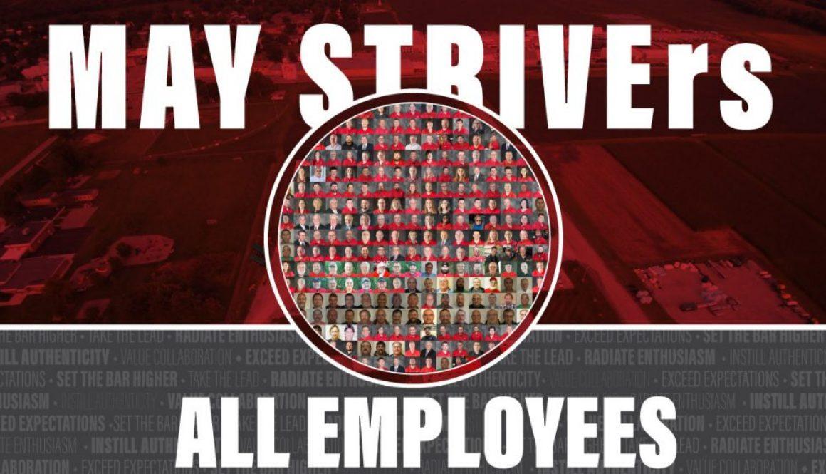Eldon-C-Stutsman-Inc-May STRIVErs-All-Employees