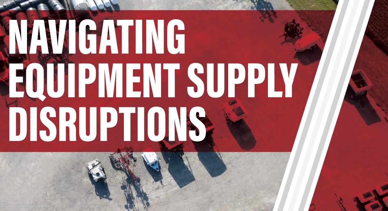 Navigating Equipment Supply Disruptions-Equipment Lot
