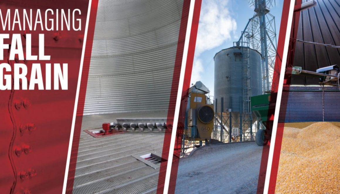 Managing Fall Grain-Inside Grain Bin-Grain Dryer-Stirrator